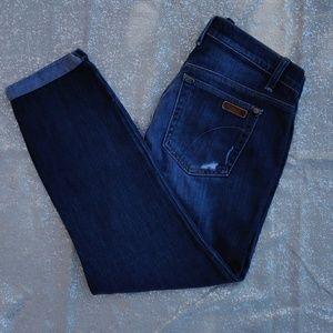 Joe's Jean Capri Rolled cropped denim jeans